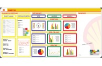 KPI board | Example Shell (120x240cm)